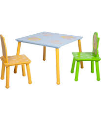 Outdoor Childrens Table And Chairs Buy Animal Table And Chairs Multicoloured At Argos Co Uk Your