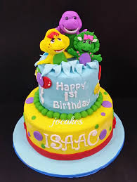 barney birthday cake barney and friends cake for alexia yong 1st birthday pinteres