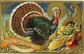 happy thanksgiving postcards from special collections miami