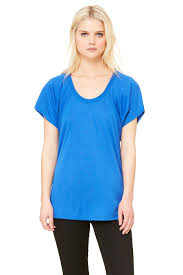 Skyy John by Women U0027s Flowy Raglan Tee Bella Canvas