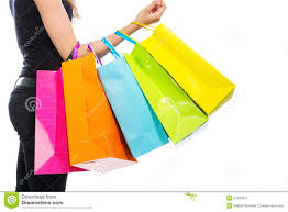 arm with shopping bags stock image image 31430611