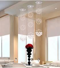 Hanging Lights For Dining Room Modern Crystal Chandeliers Ceiling Crystal Pendant Lamp Living