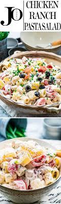 pasta salad with mayo chicken ranch pasta salad jo cooks