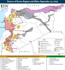 Map Of Syria And Russia Putin Wants To Negotiate With The Us Over Syria Business Insider