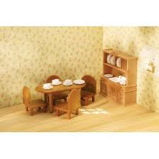 Country Dining Room Furniture Sets Calico Critters Country Dining Room Furniture Set