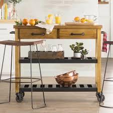 rustic kitchen islands u0026 carts you u0027ll love wayfair
