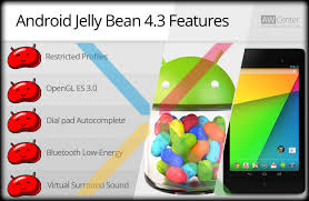 android jellybean android jelly bean 4 3 features aw center