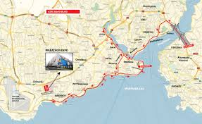Istanbul On World Map by Istanbul Maraton