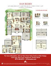 San Remo Floor Plans Lakefront Homes In Orlando Fl San Remo Av Homes
