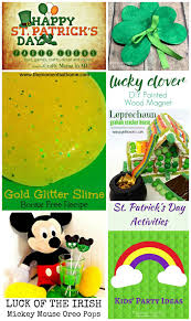 luck of the irish mickey mouse oreo pops crafty mama in me
