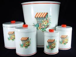 antique canisters kitchen 174 best vintage canisters images on vintage canisters