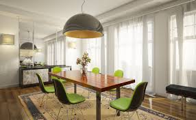 Lime Green Table L 5 Lime Green Chairs White Dining Room Interior Design Ideas