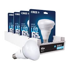 cree 65w equivalent daylight 5000k br30 led flood light bulb 4
