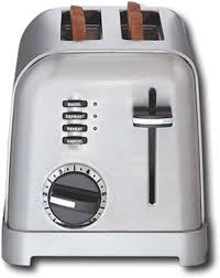 Cuisinart Toaster 4 Slice Stainless Cuisinart Metal Classic 2 Slice Toaster Silver Cpt 160 Best Buy