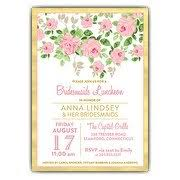 bridal luncheon invitations bridesmaids luncheon invitations