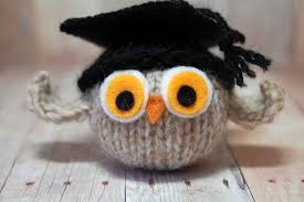 graduation owl graduation owl knit owl with graduation cap graduation