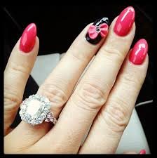 5 carat engagement ring jwoww s cushion cut 5 carat pink diamond ring