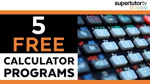 free ti 84 hacks 5 act calculator programs supertutortv