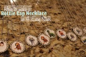 bottle cap necklaces ideas bottle cap necklace tutorial gone mom