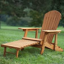 Outdoor Adirondack Chairs Foldable Adirondack Chair With Pull Out Ottoman