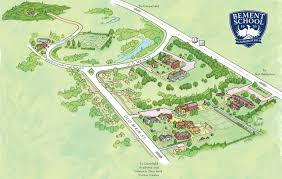 Map Of Northampton Ma Campus Map The Bement