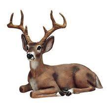 buck deer outdoor statues garden animal resin durable realistic