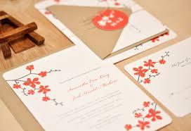Cherry Blossom Wedding Invitations Classic Cherry Blossom Wedding Invitations Smitten On Paper