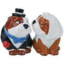 bulldog cake topper bulldog wedding dog cake topper wedding collectibles