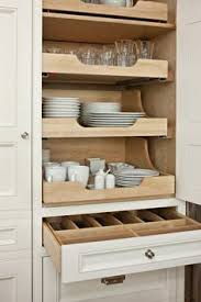 Fabulous Kitchen Features Concealed Pantry Cabinets Fitted With - Kitchen cabinets drawer