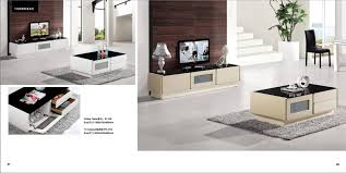 white beige furniture set living room coffee table and tv