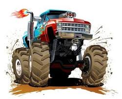 99 cartoon monster truck images cartoon