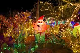 ethel m chocolate factory las vegas holiday lights ethel m kicks off holidays with lighting of cactus garden ktnv com
