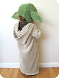 yoda halloween costume kids homemade by jill comfy dress up yoda costume