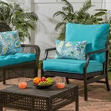 coastal collection outdoor deep seat cushion set u2013 cushions direct