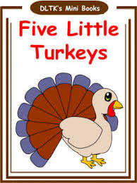 five turkeys poem