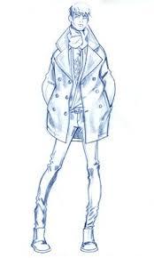 drawn fashion fashion person pencil and in color drawn fashion