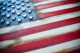 american vintage wood flag patriot wood