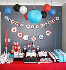 baby boy 1st birthday ideas one lovely day jedi master aniken 1st birthday