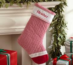 Pottery Barn Kids Stockings From Pottery Barn Channel Quilted Velvet Stocking And Reindeer