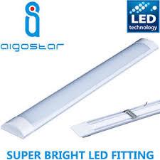 led daylight strip light high lumen 5ft led wide tube light ceiling strip lights fitting 50w