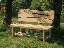 memorial bench oak garden furniture penzance cornwall samuel f