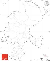 Blank Map Of Mexico by Blank Simple Map Of Zacatecas Cropped Outside No Labels