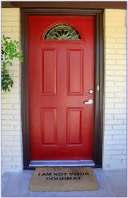best red color for front door painting home design ideas