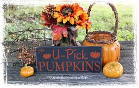 Thanksgiving Home Decorations U Pick Pumpkins Wood Sign Fall Rustic Autumn Thanksgiving Home