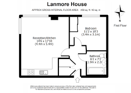 1 bed flat to rent in lanmore house high road wembley ha9