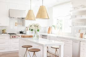 cooking in style chic white kitchen decoholic