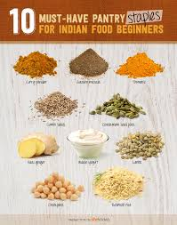 10 Must Ingredients For A by 10 Indian Food Pantry Staples For Beginners And Enthusiasts