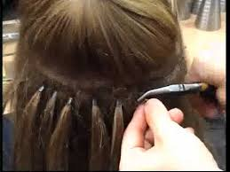 microbead extensions microbead weft extensions and more from hairdressing