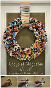 home decorating craft ideas diy ideas to recycle magazines for home décor u2022 diy home decor