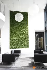 außergewöhnliche wandgestaltung freund gmbh greenhill polstermoos moosbild mooswand 花艺